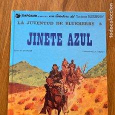 Cómics: TENIENTE BLUEBERRY 14 - JINETE AZUL - GRIJALBO - BUEN ESTADO. Lote 266845559
