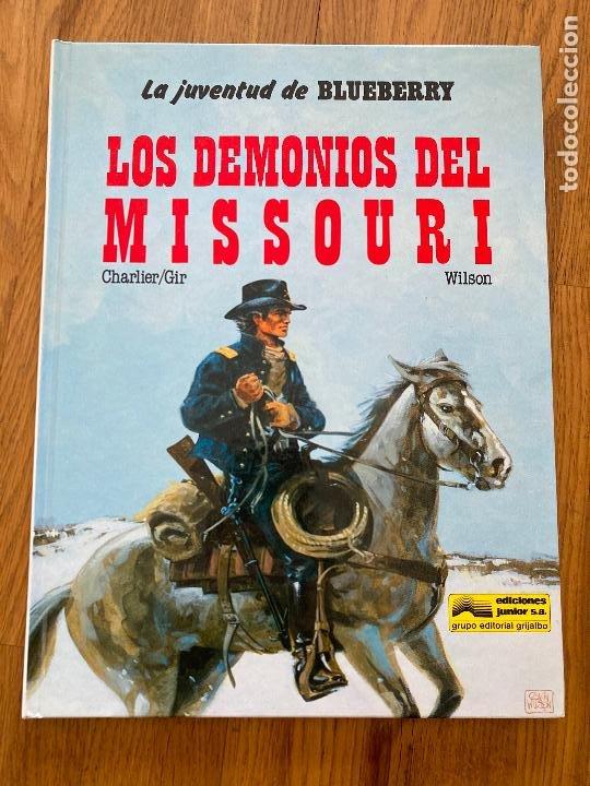 TENIENTE BLUEBERRY 25 - LOS DEMONIOS DEL MISSOURI - GRIJALBO - BUEN ESTADO (Tebeos y Comics - Grijalbo - Blueberry)