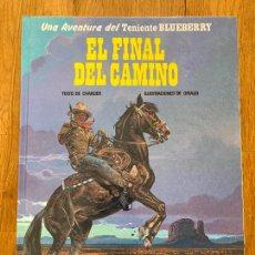 Comics : TENIENTE BLUEBERRY 26 - EL FINAL DEL CAMINO - GRIJALBO - BUEN ESTADO. Lote 266856314