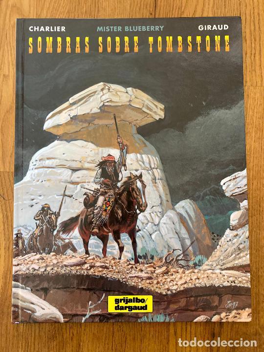MISTER BLUEBERRY 36 - SOMBRAS SOBRE TOMBSTONE - GRIJALBO - BUEN ESTADO (Tebeos y Comics - Grijalbo - Blueberry)
