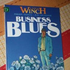 Cómics: LARGO WINCH (DE VAN HAMME & FRANCQ.) Nº 04: BUSINESS BLUES. ( REBAJADO). Lote 221602811