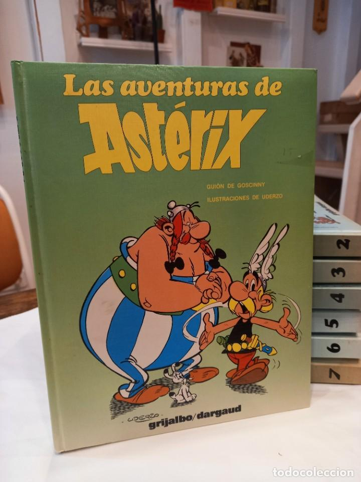 LAS AVENTURAS DE ASTERIX. 7 TOMOS GUÁLFLEX. GRIJALBO/DARGAUD (Tebeos y Comics - Grijalbo - Asterix)