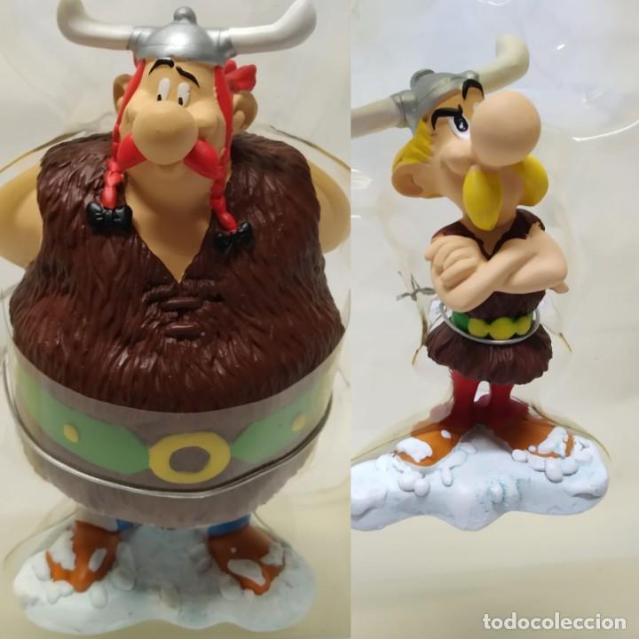 ASTÉRIX Y OBÉLIX, FIGURAS DE RESINA, PLASTOY, ASTERAF Y OBELAF LOS VIKINGOS (Tebeos y Comics - Grijalbo - Asterix)