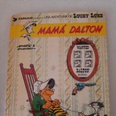 Comics : LUCKY LUKE Nº 28 - MAMÁ DALTON - GRIGALBO 1985, TAPA DURA, ILUSTRA MORRIS. Lote 267106864