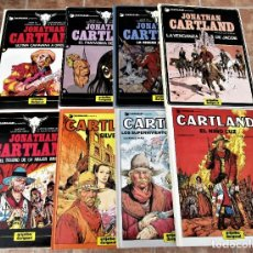 Fumetti: JONATHAN CARTLAND COMPLETA 8 LIBROS TAPA DURA GRIJALBO EXCELENTE ESTADO VER FOTOS Y DESCRIPCIÓN. Lote 267110644