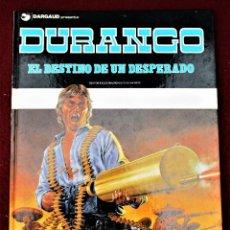 Cómics: DURANGO EL DESTINO DE UN DESPERADO Nº 6 GRIJALBO 1990 TAPA DURA EXCELENTE VER DESCRIPCIÓN Y FOTOS. Lote 267226094