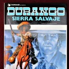 Cómics: DURANGO SIERRA SALVAJE Nº 5 GRIJALBO 1990 TAPA DURA EXCELENTE VER DESCRIPCIÓN Y FOTOS. Lote 267226384