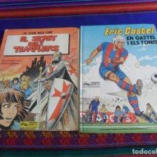 Cómics: ERIC CASTEL 1 EN CASTEL I ELS TONIS Y EL CLUB DELS CINC 3 SECRET TEMPLERS. GRIJALBO. CATALÁN.. Lote 267383529
