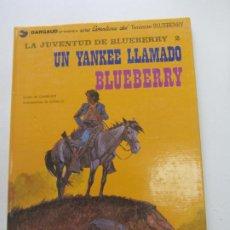 Comics : TENIENTE BLUEBERRY Nº 13 - LA JUVENTUD UN YANKEE LLAMADO BLUEBERRY EDICIONES JUNIOR E1. Lote 267395059