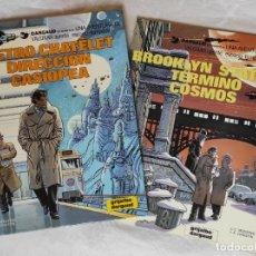 Cómics: LOTE 2 COMICS: VALERIAN 9 Y 10 - METRO CHATELET DIRECCION CASIOPEA - BROOKLYN STATION TERMINO COSMOS. Lote 267414074