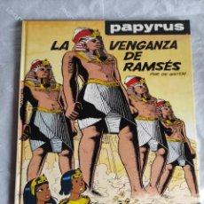 Cómics: COMIC: PAPYRUS VOL.7 - LA VENGANZA DE RAMSES - POR DE GIETER - GRIJALBO. Lote 267494654