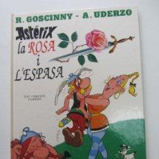 Cómics: ASTERIX Nº 29 * LA ROSA I L'ESPASA GRIJALBO DARGAUD GOSCINNY UDERZO EN CATALÀ ARX107. Lote 267498719