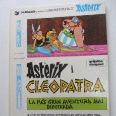 Cómics: ASTERIX I CLEOPATRA GRIJALBO DARGAUD GOSCINNY UDERZO EN CATALÀ ARX20. Lote 267499969