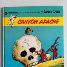 Cómics: LUCKY LUKE - CANYON APACHE - GRIJABO DARGAUD NUMERO 17. Lote 267507194