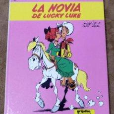 Fumetti: LUCKY LUKE Nº 32 LA NOVIA DE LUCKY LUKE (GRIJALBO DARGAUD 1987). Lote 267888739