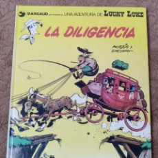 Cómics: LUCKY LUKE Nº 24 LA DILIGENCIA (GRIJALBO DARGAUD 1983). Lote 267890484