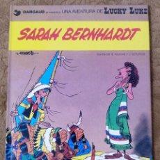 Cómics: LUCKY LUKE Nº 23 SARAH BERNHARDT (GRIJALBO DARGAUD 1991). Lote 267890714
