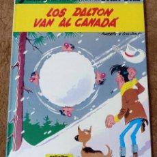 Cómics: LUCKY LUKE Nº 22 LOS DALTON VAN AL CANADA (GRIJALBO DARGAUD 1982). Lote 267890884