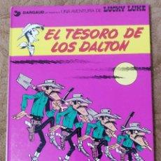 Cómics: LUCKY LUKE Nº 19 EL TESORO DE LOS DALTON (GRIJALBO DARGAUD 1982). Lote 267891714