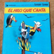 Cómics: LUCKY LUKE Nº 10 EL HILO QUE CANTA (GRIJALBO DARGAUD 1978). Lote 267893069