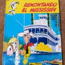 Cómics: LUCKY LUKE Nº 9 REMONTANDO EL MISSISSIPI (GRIJALBO DARGAUD 1979). Lote 267893399