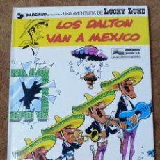 Cómics: LUCKY LUKE Nº 8 LOS DALTON VAN A MEXICO (GRIJALBO DARGAUD 1979). Lote 267893609