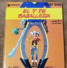 Cómics: LUCKY LUKE Nº 7 EL 7º DE CABALLERIA (GRIJALBO DARGAUD 1979). Lote 267893759