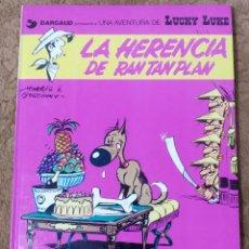 Cómics: LUCKY LUKE Nº 6 LA HERECIA DE RANTANPLAN (GRIJALBO DARGAUD 1978). Lote 267893989