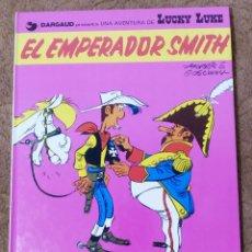 Cómics: LUCKY LUKE Nº 1 EL EMPERADOR SMITH (GRIJALBO DARGAUD 1982). Lote 267894419