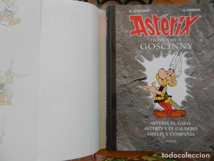 Cómics: ASTERIX, HOMENAJE A GOSCINNY - UDERZO Y GOSCINNY TAPA DURA CON SOBRECUBIERTA -2007 - Foto 4 - 268130849