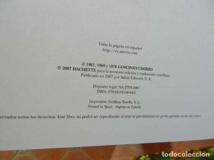 Cómics: ASTERIX, HOMENAJE A GOSCINNY - UDERZO Y GOSCINNY TAPA DURA CON SOBRECUBIERTA -2007 - Foto 10 - 268130849