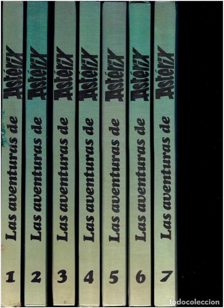7 TOMOS LAS AVENTURAS DE ASTERIX EDICIONES JUNIOR S.A.1983 EDITORIAL GRIJALBO (Tebeos y Comics - Grijalbo - Asterix)