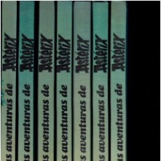 Cómics: 7 TOMOS LAS AVENTURAS DE ASTERIX EDICIONES JUNIOR S.A.1983 EDITORIAL GRIJALBO. Lote 268577969