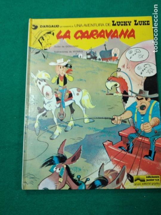 UNA AVENTURA DE LUCKY LUKE. LA CARAVANA. GOSCINNY / MORRIS. EDICIONES JUNIOR 1979 (Tebeos y Comics - Grijalbo - Lucky Luke)