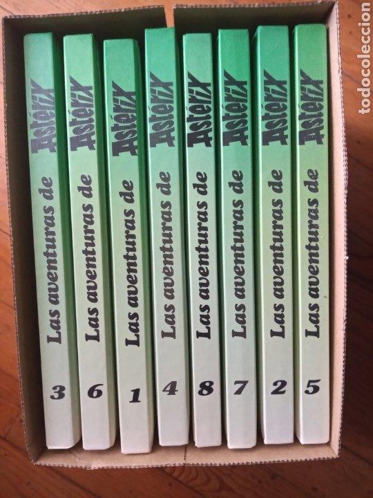 Cómics: Las aventuras de Astérix 8 tomos verdes grijalbo - Foto 2 - 268720119