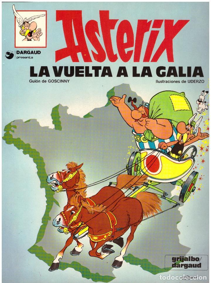 COMIC ASTERIX: LA VUELTA A LA GALIA - GRIJALBO DARGAUD, TAPA BLANDA (Tebeos y Comics - Grijalbo - Asterix)