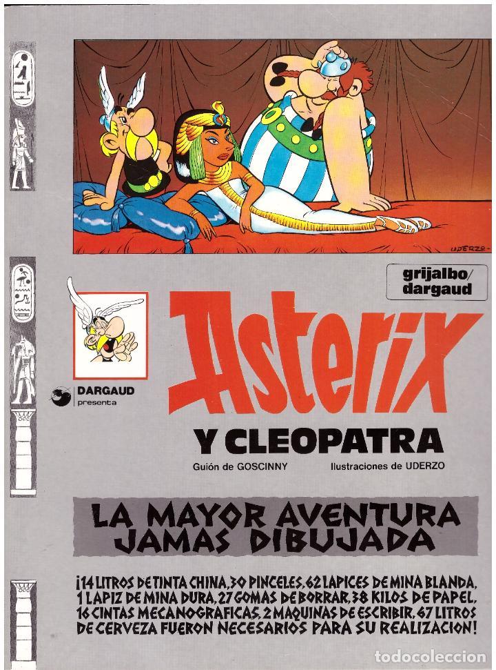 COMIC ASTERIX: ASTERIX Y CLEOPATRA - GRIJALBO DARGAUD, TAPA BLANDA (Tebeos y Comics - Grijalbo - Asterix)