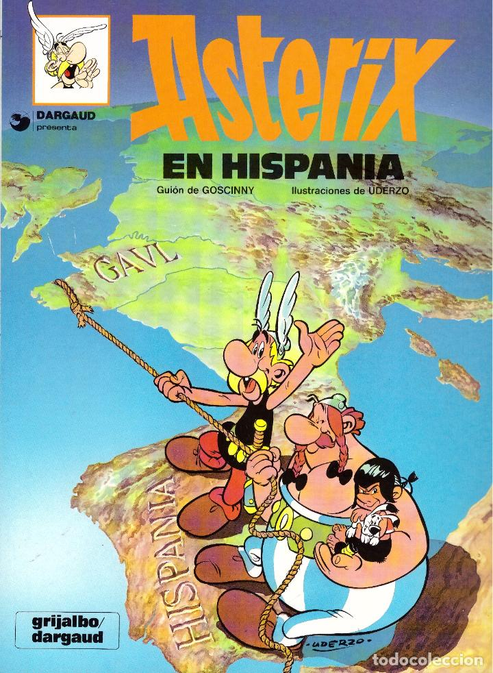 COMIC ASTERIX: ASTERIX EN HISPANIA - GRIJALBO DARGAUD, TAPA BLANDA (Tebeos y Comics - Grijalbo - Asterix)