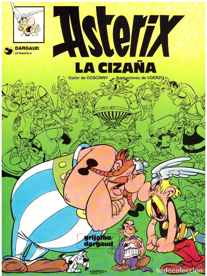 COMIC ASTERIX: LA CIZAÑA - GRIJALBO DARGAUD, TAPA BLANDA (Tebeos y Comics - Grijalbo - Asterix)