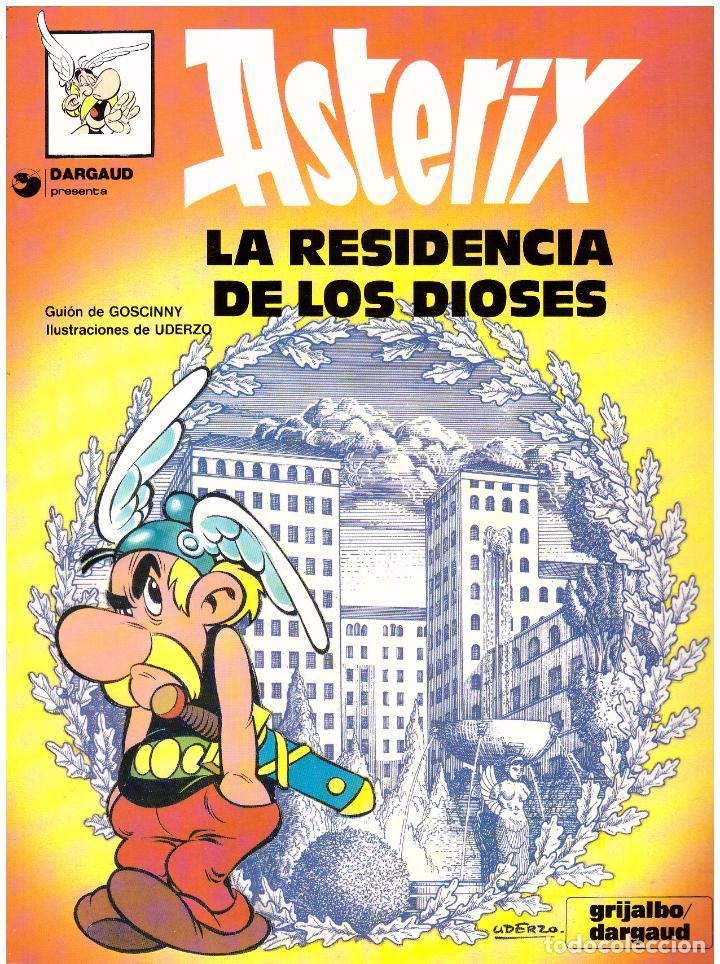 COMIC ASTERIX: LA RESIDENCIA DE LOS DIOSES - GRIJALBO DARGAUD, TAPA BLANDA (Tebeos y Comics - Grijalbo - Asterix)