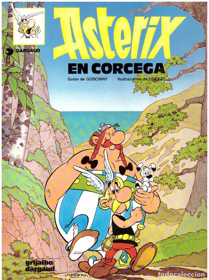 COMIC ASTERIX: ASTERIX EN CORCEGA - GRIJALBO DARGAUD, TAPA BLANDA (Tebeos y Comics - Grijalbo - Asterix)