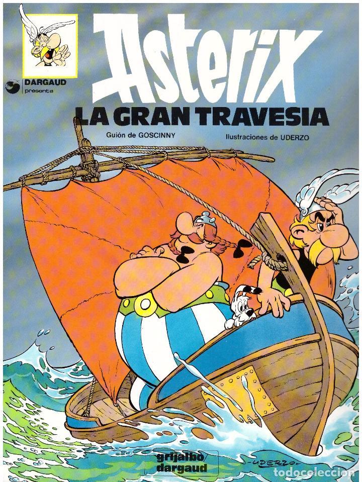 COMIC ASTERIX: LA GRAN TRAVESIA - GRIJALBO DARGAUD, TAPA BLANDA (Tebeos y Comics - Grijalbo - Asterix)