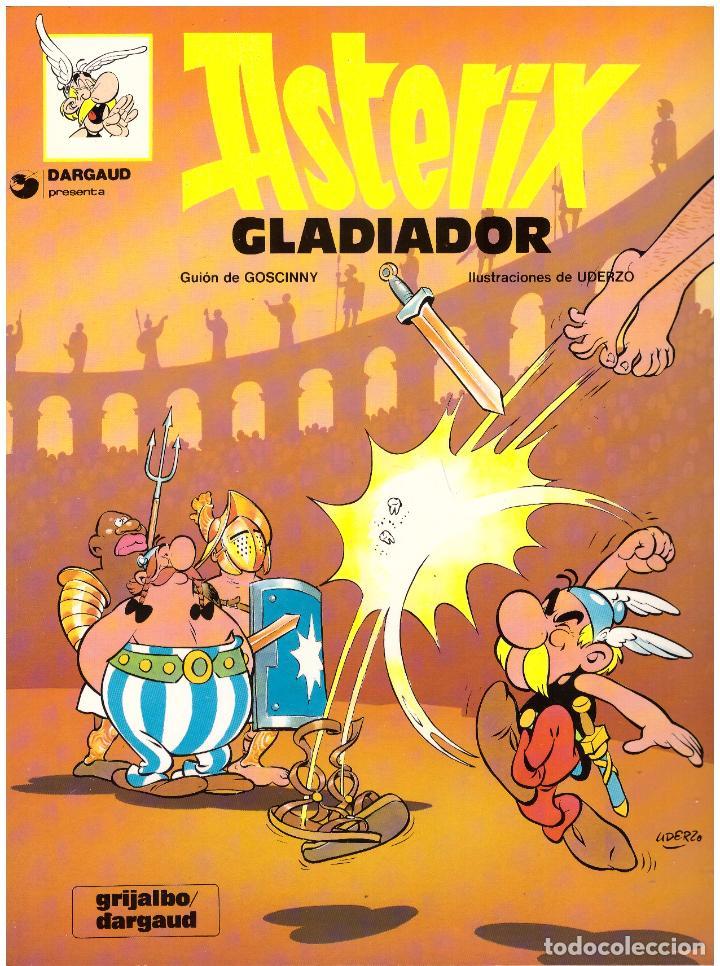 COMIC ASTERIX: ASTERIX GLADIADOR - GRIJALBO DARGAUD, TAPA BLANDA (Tebeos y Comics - Grijalbo - Asterix)
