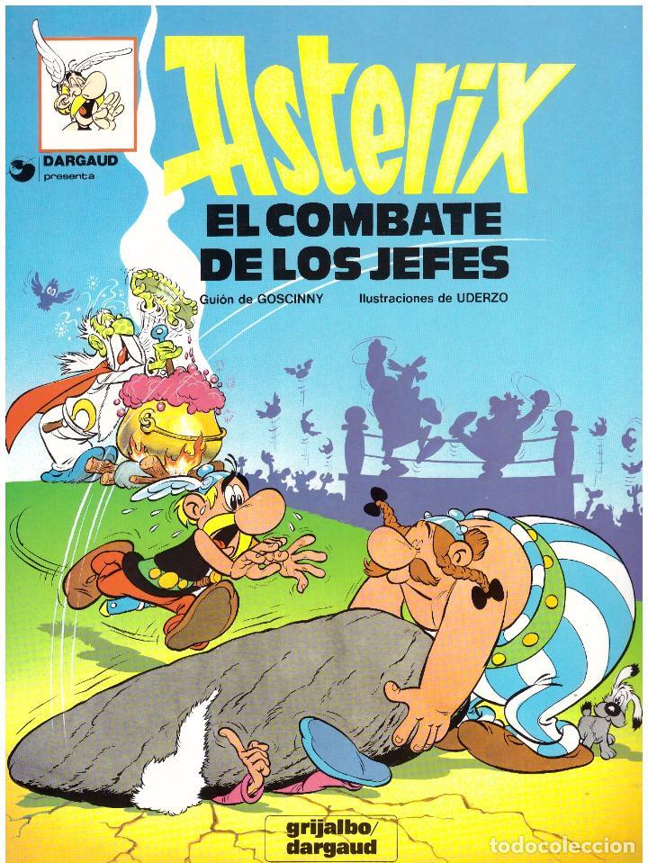 COMIC ASTERIX: EL COMBATE DE LOS JEFES - GRIJALBO DARGAUD, TAPA BLANDA (Tebeos y Comics - Grijalbo - Asterix)