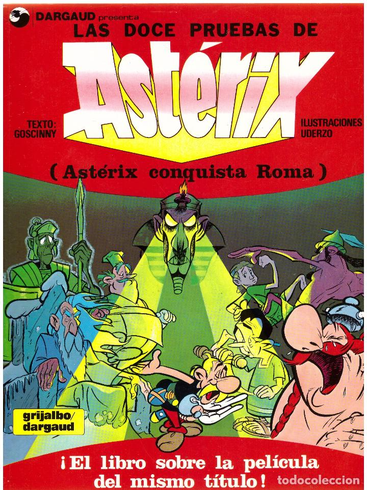 COMIC ASTERIX: LAS DOCE PRUEBAS DE ASTERIX (ASTERIX CONQUISTA ROMA) - GRIJALBO DARGAUD, TAPA BLANDA (Tebeos y Comics - Grijalbo - Asterix)