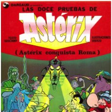 Cómics: COMIC ASTERIX: LAS DOCE PRUEBAS DE ASTERIX (ASTERIX CONQUISTA ROMA) - GRIJALBO DARGAUD, TAPA BLANDA. Lote 268774109
