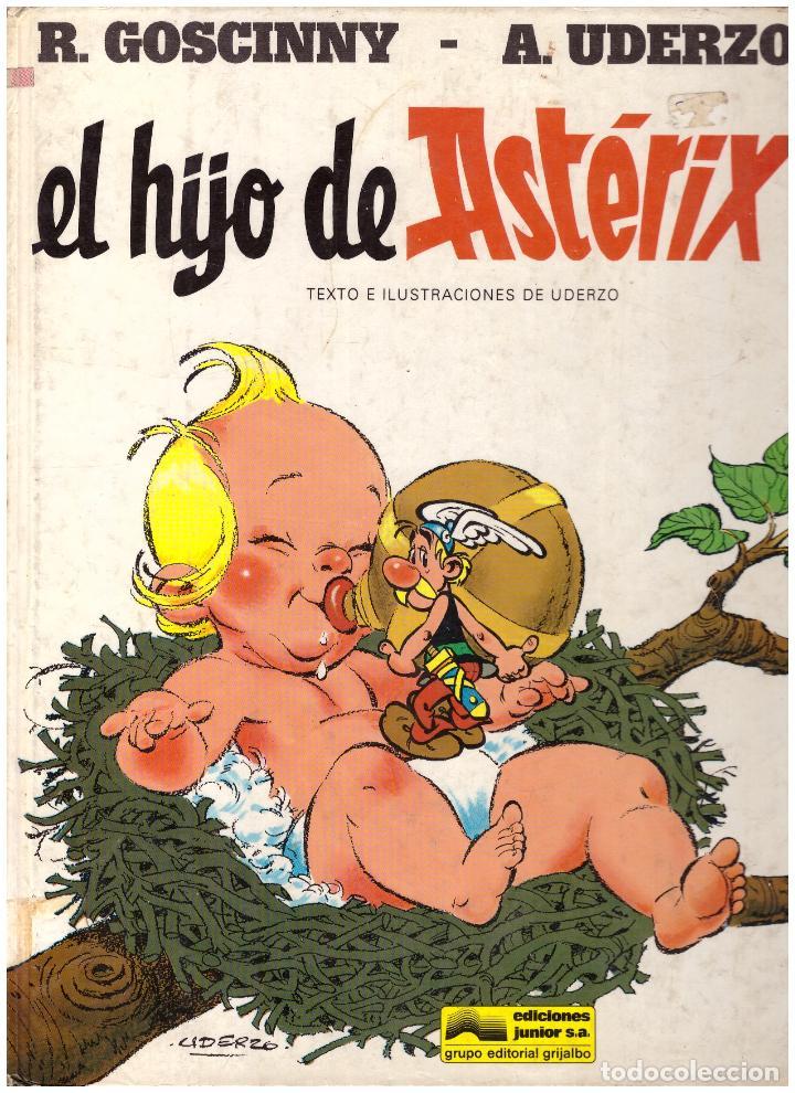 COMIC ASTERIX: EL HIJO DE ASTERIX - GRIJALBO DARGAUD, TAPA DURA (Tebeos y Comics - Grijalbo - Asterix)