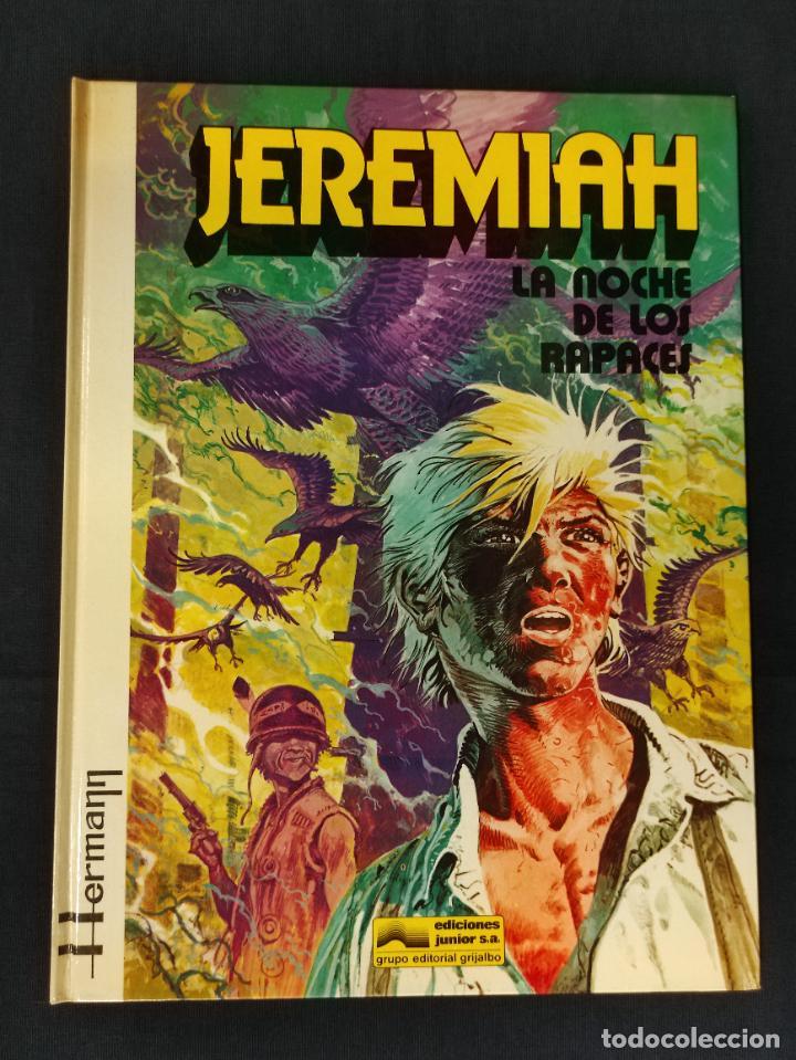 JEREMIAH - Nº 1 - LA NOCHE DE LOS RAPACES - GRIJALBO - (Tebeos y Comics - Grijalbo - Jeremiah)