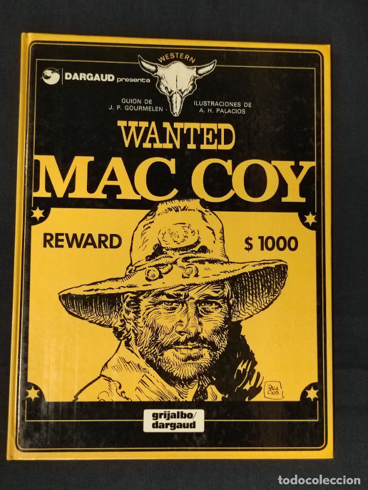 WANTED MAC COY - Nº 5 - GRIJALBO - (Tebeos y Comics - Grijalbo - Mac Coy)
