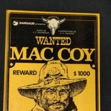 Cómics: WANTED MAC COY - Nº 5 - GRIJALBO -. Lote 268811829